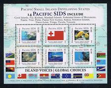 Tonga Pacific Small Island Developing States (SIDS) Stamp Marine Life Mini-Sheet