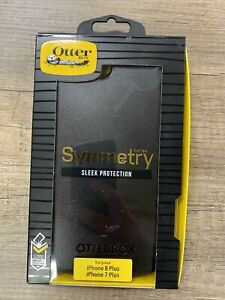 OtterBox SYMMETRY SERIES Case for  iPhone 8 Plus & iPhone 7 Plus - BLACK NEW