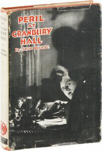 John Rhode-PERIL AT CRANBURY HALL-1945-2ND IMPRESSION-VERY GOOD+/VERY GOOD DJ