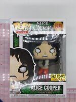 Funko Pop! Alice Cooper Hot Topic Exclusive #69 Vinyl Figure NOT MINT N02