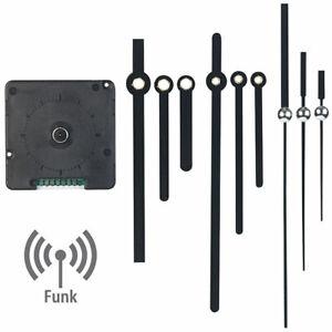 Funkuhrwerk: Funk-Quarz-Uhrwerk mit 3 Zeigersets für selbstgestaltete Uhren