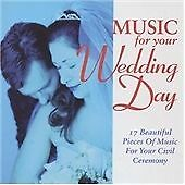 Music for Your Wedding Day, Various Artists, Very Good CD