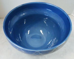 """LARGE MIXING OR SERVING BOWL 6"""" TALL 10"""" ACROSS"""