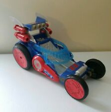 "Playskool 2012 Marvel Spider-Man Car & Hover Craft Vehicle Hasbro 10.5"" Long"
