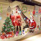 DIY Christmas Tree Santa Claus Wall Sticker Xmas Mural Window Home Decor Gift