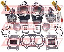 Carburetor Carb Cylinder Piston Gasket Top End Kit Yamaha Banshee 350 1987-2006