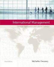 International Management: Strategic Opportunities and Cultural Challen-ExLibrary