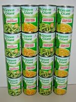 (16 Cans) GREEN GIANT - Cut & Kitchen Sliced Green Beans - Sweet & Cream Corn