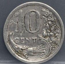 France - Frankrijk 10 Cents 1920 NICE - Emergency Money - Alu.