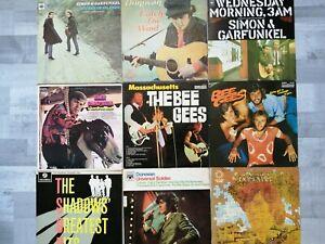 Vinyl LP Records Job Lot(60's)