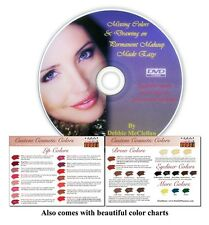 Mixing Color & Drawing on Makeup Made Easy - Cosmetic DVD