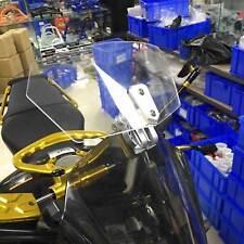Motorcycle Windshield Windscreen Wind Clear Screen Deflector Clip-on Motorbike