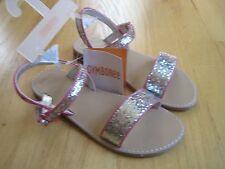 Girl GYMBOREE SILVER GLITTER SUMMER DRESSY sandals NWT 1
