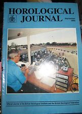 Horological Journal  September 1994 - Official Journal of the BHI and BHF