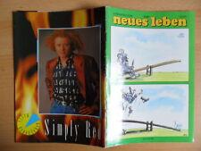 NEUES LEBEN 10/1989 5* Barbara Streisand Simply Red Chalk Circle Schweden-Pop