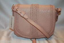 NEW! NWT! ALEXIS HUDSON Rose Woven Leather Tassel DAKOTA Shoulder Bag $450