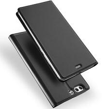 Handy Hülle Huawei P10 Book Case Schutzhülle Tasche Slim Flip Cover
