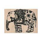 Mounted Rubber Stamp, Elephant, Circus, Whimsical Elephant, Elephant Stamp