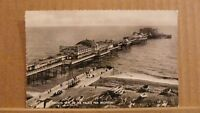 Postcard posted 1950's Sussex, Brighton, Palace pier Birdseye view
