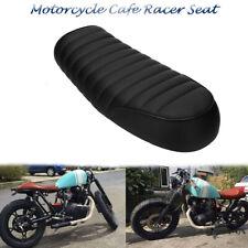 Black Vintage Flat Brat Style Tracker Cafe Racer Seat For Honda CB400/750 CG 125