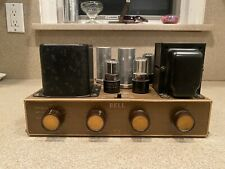 BELL MONO TUBE AUDIO AMPLIFIER AMP MODEL 2199 1950's NICE & WORKING!