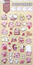 Daisyland Baby Sheep Scrapbooking Sticker Sheet ~ KAWAII!!