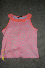 George Girls' Crew Neck Vest T-Shirts & Tops (2-16 Years)
