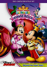 Disney Mickey Mouse Clubhouse Mickey Princess Minnie Cinderella Minnie-Rella DVD