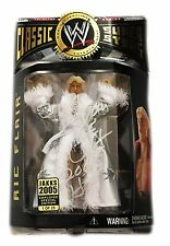 WWE CLASSIC SUPERSTARS RIC FLAIR HAND SIGNED 1 OF 25 1/25 TOY FIGURE WITH COA