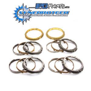 Synchrotech 1st - 6th Steel / Bronze Synchros Fits Nissan Skyline R34 GTR V160
