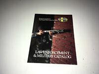 MOSSBERG Vintage Catalog Equipment 1990s Shotguns Police Military Firearm