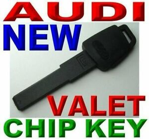LOT OF 5 NEW EMERGENCY KEY FOR AUDI VALET  PLASTIC TRANSPONDER IMMOBILIZER CHIP