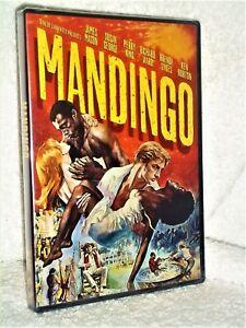 Mandingo (DVD, 2015) Ken Norton Brenda Sykes James Mason Susan George NEW drama