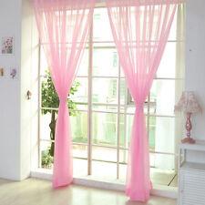 Schlaufenschal &Verdeckten Schlaufen Transparent Dekoschal Voile Gardine Vorhang