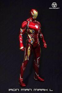 CS FANTASCRAFT FC MK50 1/12 Alloy Iron Man Super Movable Light Action Figure