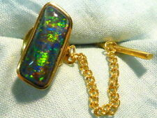 Opal Yellow Gold Jewellery for Men