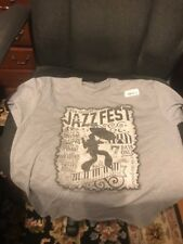 New Orleans Jazz & Heritage Festival Tee Shirt - Medium - Nwt