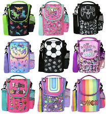Kids Lunch Bag Thermal Insulated School Food Carier Nursery Lunch Box