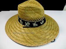 Men Panama Garden Fishing Sun Pool Beach Bamboo Wide Large Brim Straw Hat #ED