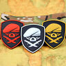 3 PCS GLOWING SPECIAL FORCES SKULL MEDAL OF HONOR MOH RANGER REGIMENT PVC PATCH