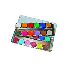 Eulenspiegel Schminkpalette mit 24 Farben á 3,5 ml, hervorragende Kinderschminke