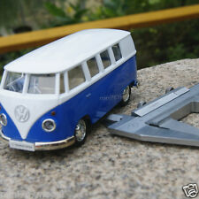 Volkswagen Van T1 Micro Bus 5'' Alloy Diecast Car Model Blue Toy Collection&Gift