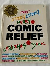 The Utterly Utterly Merry Comic Relief Christmas Book 1986 Paperback