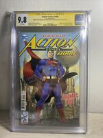 Action Comics #1000 - CGC 9.8 - SIGNED by Lee, Nowlah, Ordway & Stern
