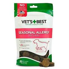 Vet's Best Seasonal Allergy Soft Chew Dog Supplements | Soothes Dogs Skin