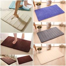 40x60CM Trendy Absorbent Soft Memory Foam Bathroom Floor Shower Mat Rug Non-slip
