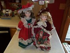 """Soft Expressions Holiday Mother and Daughter Series 18"""" Tall Porcelain Nib"""