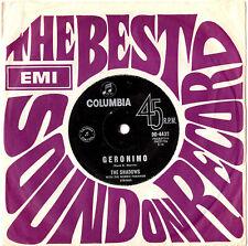 "THE SHADOWS - GERONIMO / SHAZAM - 7"" 45 VINYL RECORD 1963"
