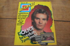 HITKRANT # 39 1981 THE POLICE GRACE JONES ABBA SHEENA EASTON STEVE STRANGE