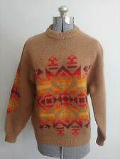New listing vtg wool Pendleton Navajo high grade western wear sweater large Usa